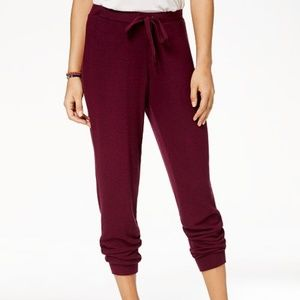 Hippie Rose Women's Marled Super-Soft Jogger Pants